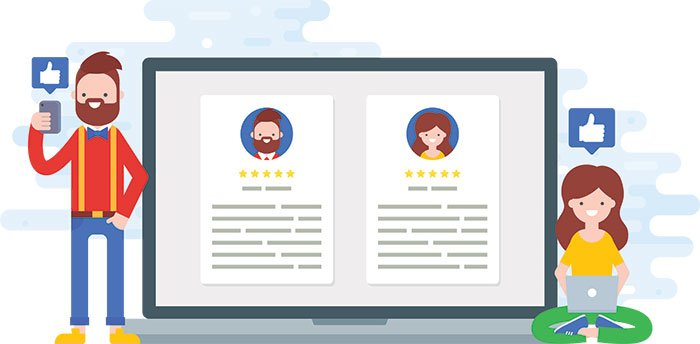 Collect business reviews automatically