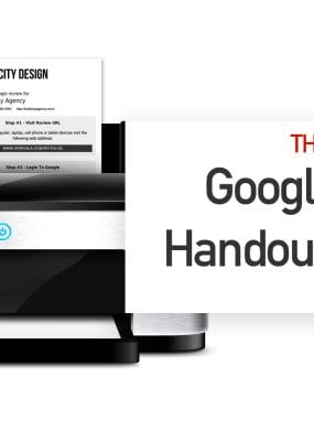 Featured Image For The Best Google Review Handout Generator – Here's Why!