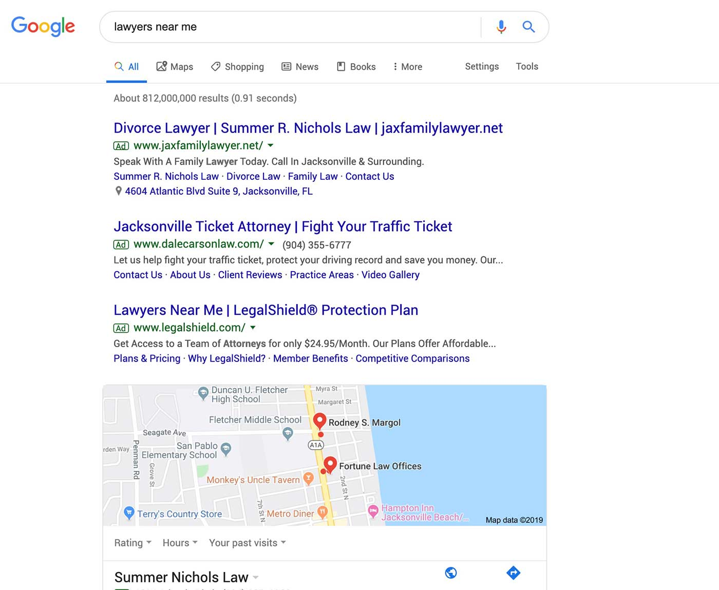 google search preview